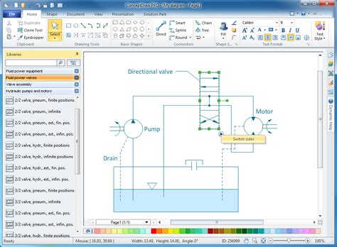 design elements in software engineering mechanical engineering solution conceptdraw com