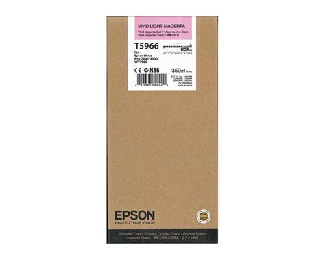 Toner Epson epson stylus pro 9900 light magenta ink cartridge oem 350ml