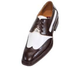 french brown and white mens two tone dress shoes oxford