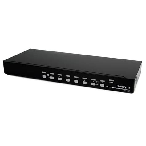 8 kvm switch usb dvi usb kvm switch 8 1u rack mountable