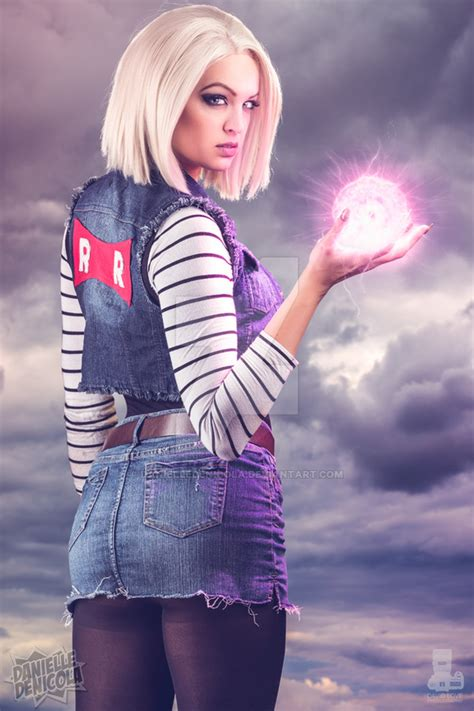 android 18 costume android 18 z by danielledenicola on deviantart