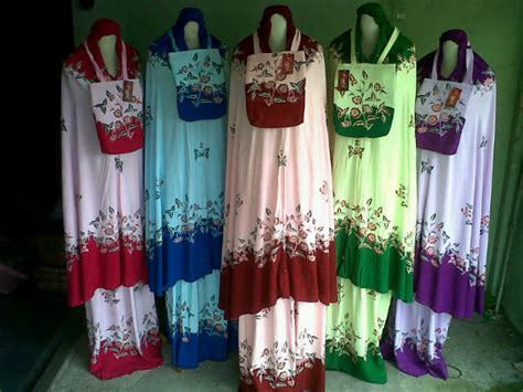 Mukena Bali Bunga Tabur Ecer katalog 1 distributor mukena murah jual mukena murah