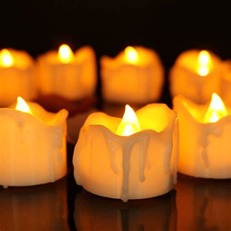 battery operated tea lights with timer compare price to tea lights with timer flickering