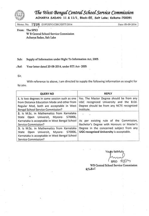 appointment letter for primary in west bengal recruitment we the teachers