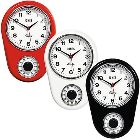 bed bath and beyond clocks jones 174 clocks timer wall clock bed bath beyond