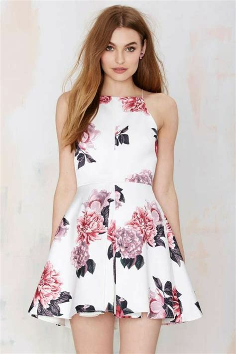 flower pattern outfit beautiful summer dresses with flowery are the trend