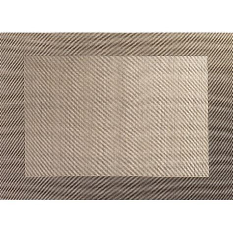 asa selection placemats placemat 33 x 46 cm bronze weaved