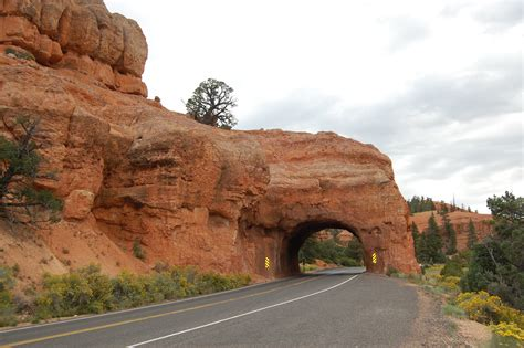 scenc byways photo 72895 rock tunnel on scenic byway 12 america s
