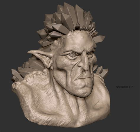 zbrush ice cream tutorial speedsculpts for ice giant and pokemon david m lally