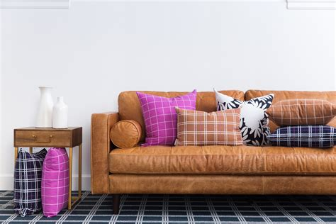 bryght furniture reviews bryght furniture this cozy sofa throw pillow and pouf