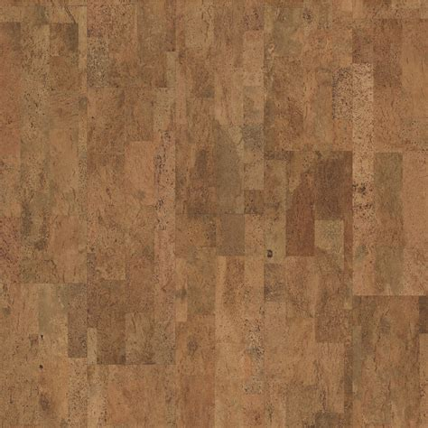 shop natural floors by usfloors exotic 11 81 in w prefinished cork locking hardwood flooring