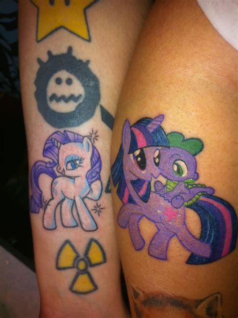magical tattoos friendship magic