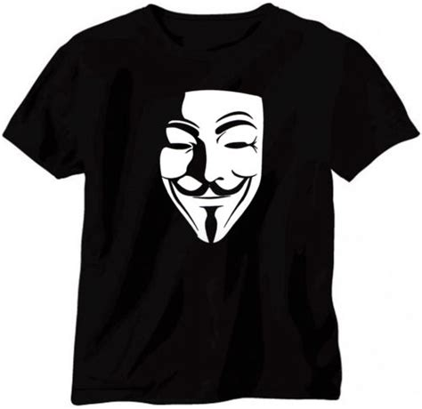 T Shirt Anonymous 02 anonymous t shirt printed design t