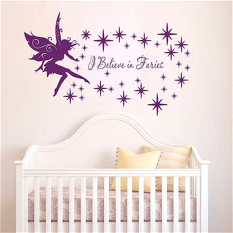 Wall Stickers Beautiful Fairies Interior Home Wall Shop Tinkerbell Nursery On Wanelo
