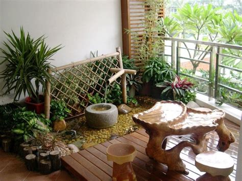 home and garden decorating ideas appealing small balcony garden view which is enhanced with