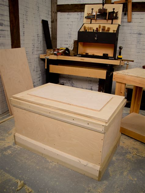 woodworking tool box christopher schwarz builds a diy tool chest in 16 hours