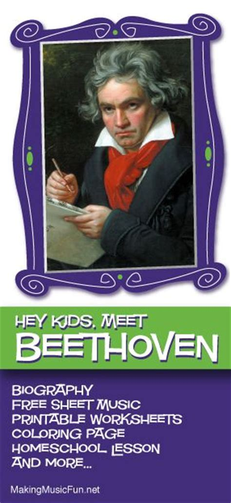 beethoven biography for elementary 1000 images about beethoven for kids biography free