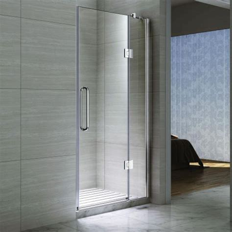 Hinged Glass Shower Doors Buy Desire Ten Inline Hinged Shower Door 1200mm Wide Semi Frameless 10mm Glass From Our Bath
