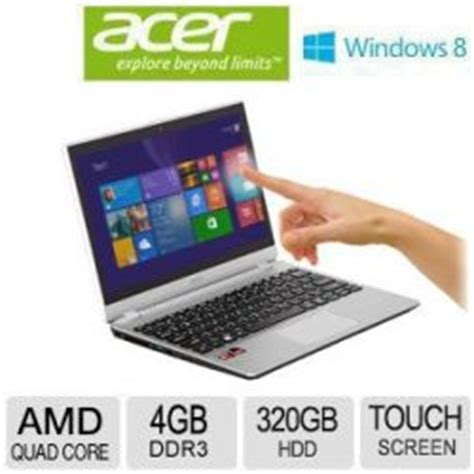 Laptop Acer Slim Aspire V5 Touch Acer Touchscreen Laptop Amd A6 4gb 500gig Hd