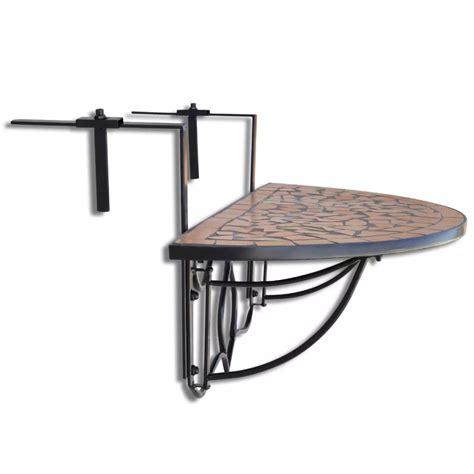 hanging balcony table ikea vidaxl co uk mosaic balcony table hanging semi circular