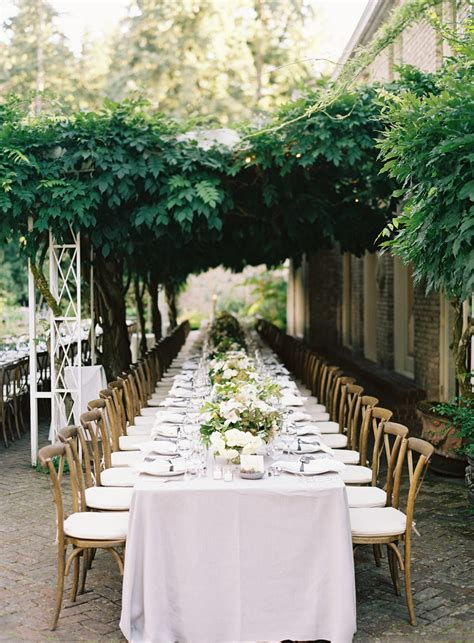 Garden Wedding Ideas Pictures Garden Wedding Reception Real Weddings Oncewed