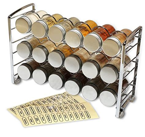48 Bottle Spice Rack by Decobros Spice Rack Stand Holder With 18 Bottles And 48