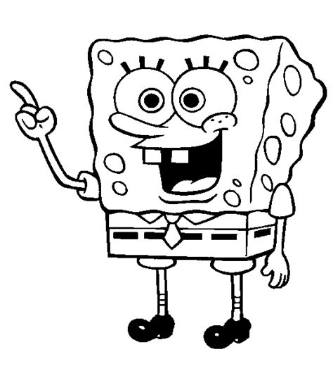 coloring page of spongebob spongebob coloring page candy jars pinterest