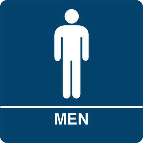 bathroom men sign men s bathroom sign clipart best