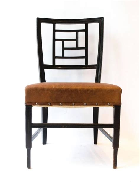 Godwins Furniture by E W Godwin Anglo Japanese Ebonized Side Chair For Sale At