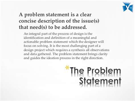 design statement definition lecture 3 problem statement
