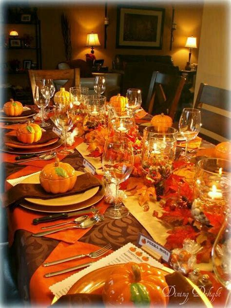 decoration tips inspiring thanksgiving dinner table decoration ideas 50