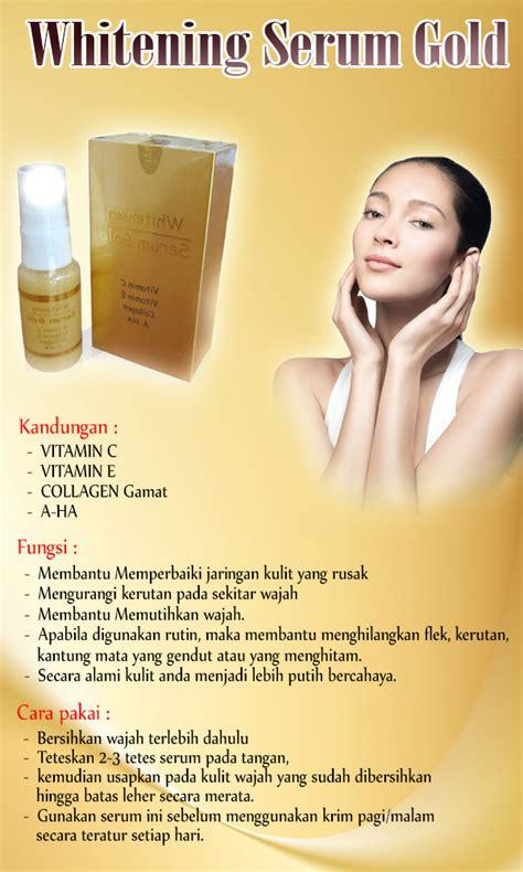 Serum Wajah Dengan Terjangkau serum gold whitening serum untuk wajah