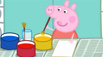 peppa pig painting season 2 episode 29