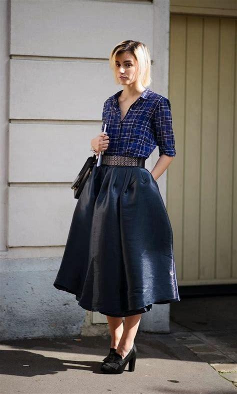 Rok Midi Flower Punching Skirt 601 Rok Midi Flare Lebar Rok stunning skirts to sport this