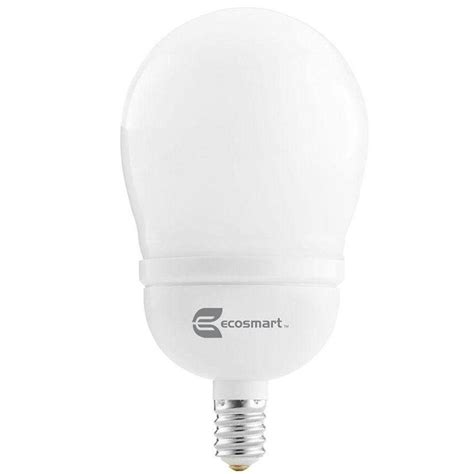 ecosmart light bulbs warranty ecosmart 40 equivalent a15 cfl light soft white