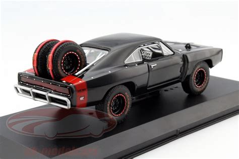 Doms Dodge Charger Rt Skala 155 ck modelcars 86232 dom s dodge charger r t offroad fast and furious 7 2015 black 1 43