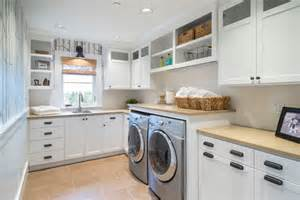 Cork Countertop how to light your laundry room