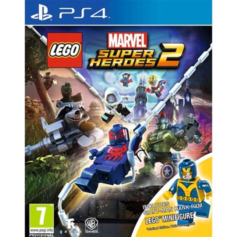 lego marvel heroes 2 ps4 with mini figurine