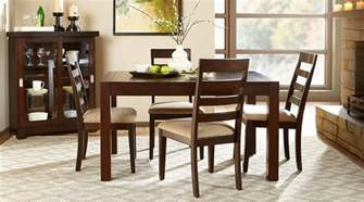 affordable casual dining room sets eva furniture davenport amaretto finish casual dining room set