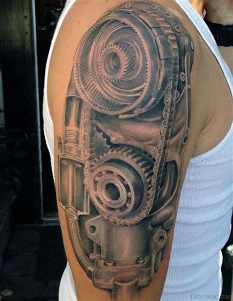 bio tattoos 92 innovative bio mechanical tattoos on shoulder