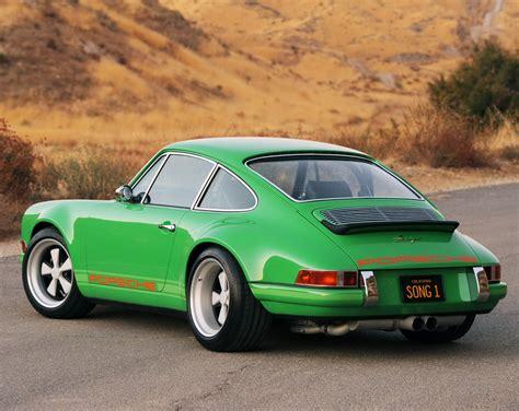 retro porsche future car trends introducing the singer design 911