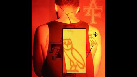 drakes illuminati owl tattoo exposed youtube