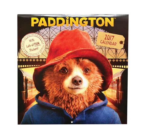 Paddington Bear Wall Stickers paddington bear movie calendar 2017 calendar club uk
