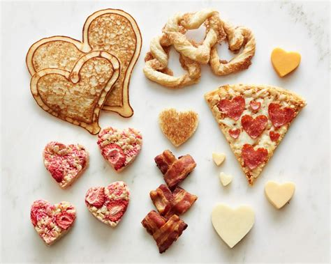 valentines food food network shaped foods for s day
