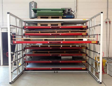 Sheet Metal Racks Storage by Metal Sheet Rack Horizontal Eurostorage Storage Sheets