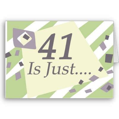 41 Birthday Card