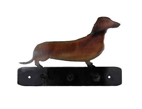 leash holder smw404 metal dachshund leash holder hanger sunriver metal works