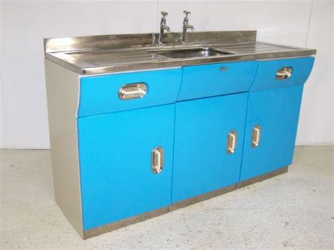 Foundation Kitchen Sink by Vintage Retro Metal Kitchen Sink Unit Cabinet