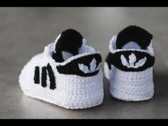 Guess Sepatu Baby sneakers o zapatillas para beb 233 s tejidas a crochet paso a paso con tutorial