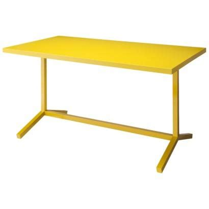 Yellow Dining Table By Dot Platten Dining Table Desk Yellow I Target
